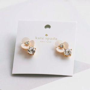 ❗️LAST ONE❗️Kate Spade Flower Crystal Earrings
